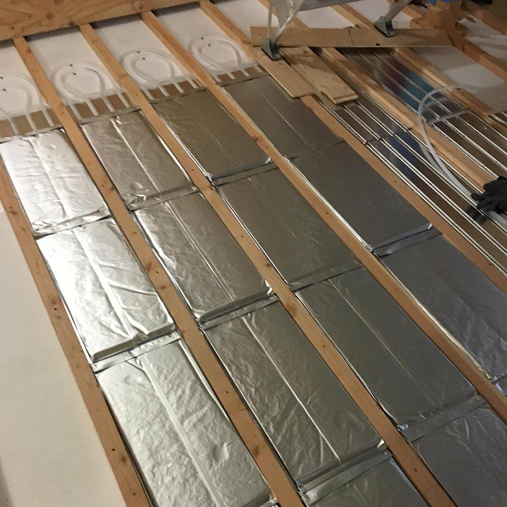 床暖房(オンドル)システムの写真